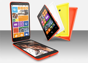 Nokia Lumia 1320 and 525 hands-on: First look