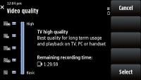 Nokia X6 screen shot