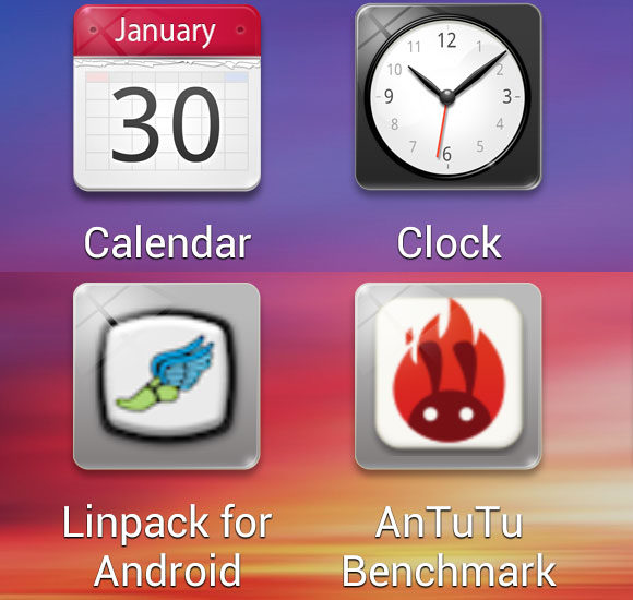 Oppo Find 5 review: Oppo-lent screen: User interface