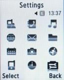 Samsung F110 Adidas screenshot