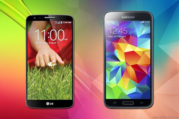 Samsung Galaxy S5 vs LG G2: Life in the fast lane - GSMArena com tests