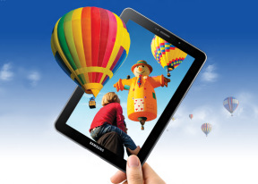 Samsung Galaxy Tab 7.7 review: Different magic
