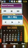 Samsung S5560 Marvel screenshot