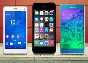 iPhone 6 vs. Galaxy Alpha vs. Xperia Z3 Compact: Three kings