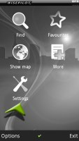 Sony Ericsson Satio screenshot