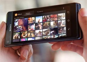 Sony Xperia L review: Xperia Lite