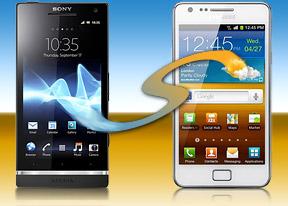 Sony Xperia S vs. Samsung Galaxy S II: S-hootout